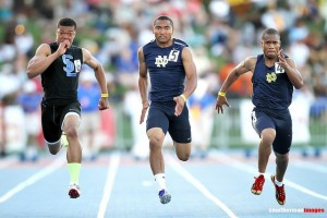 Andre McBride at 2012 State meet (far left).
