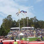 "Pole Vault at 17'2"" at Stanford Invitational."